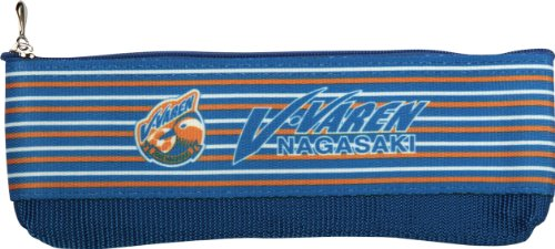 [해외]J.LEAGUE ENTERPRISE (제이 리그 엔터프라이즈) V · 퍼 렌 나가사키 공식 테이프 필통 11-05808/J.LEAGUE ENTERPRISE (Jay League Enterprise) V · Furren Nagasaki Official Tape Pen Case 11-05808