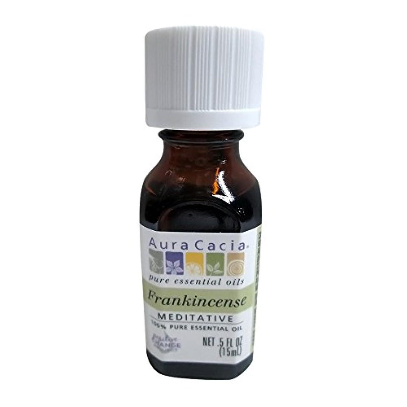 宣言化学者はしごAura Cacia Frankincense Essential Oil 15 ml (並行輸入品)