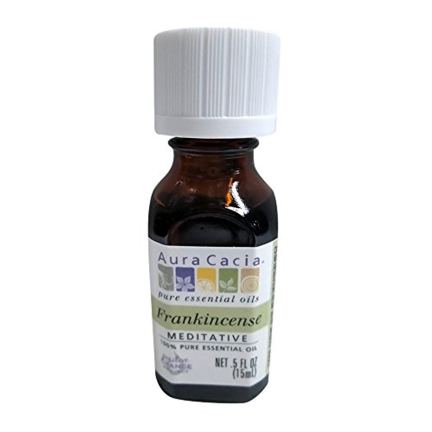 等しいポケットめったにAura Cacia Frankincense Essential Oil 15 ml (並行輸入品)