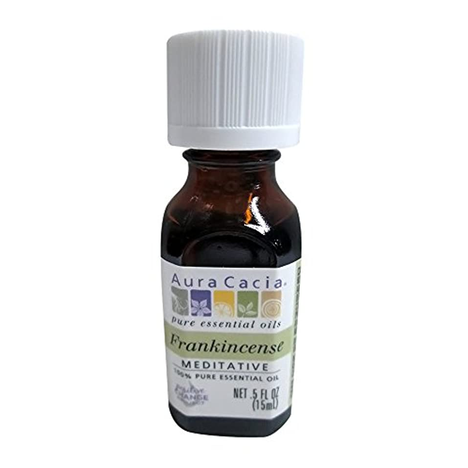 Aura Cacia Frankincense Essential Oil 15 ml (並行輸入品)