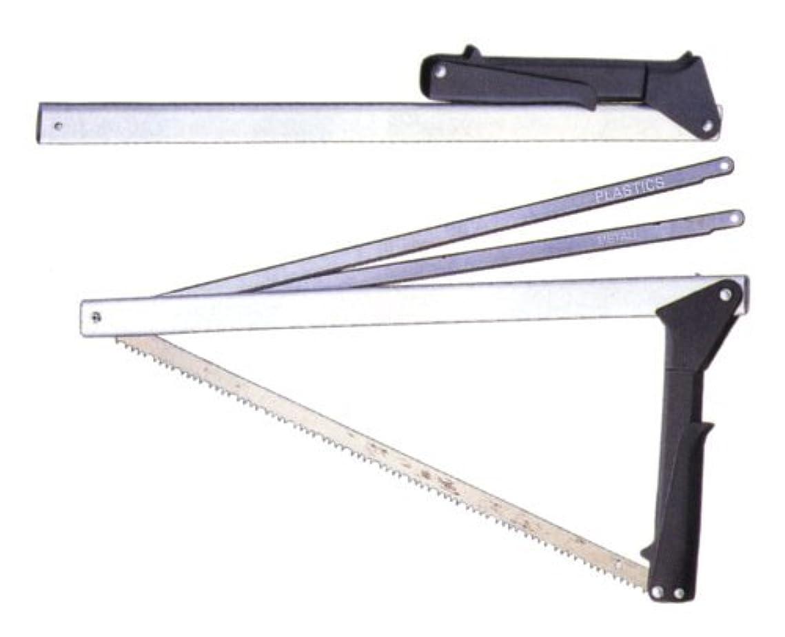悪質なブローガーバー GERBER 180014 フォールディングソウ 全長:53cm 3本のウッド、金属、プラスチック専用ノコ刃付。折りたたみ式なので携帯?収納に大変便利です。
