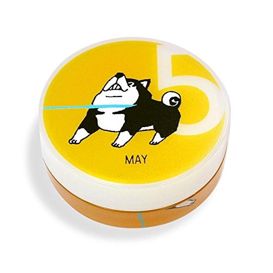 アッパー定期的テーブルを設定するしばんばん フルプルクリーム 誕生月シリーズ 5月 20g