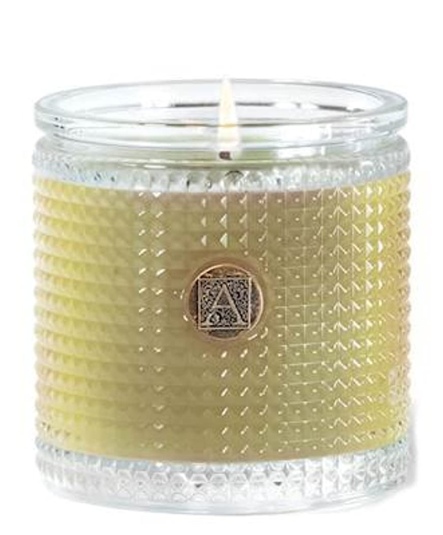 エゴマニア巧みな参照Grapefruit Fandango 160ml Textured Glass Candle by Aromatique (1)