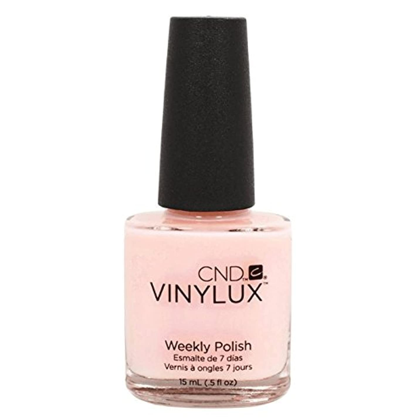 想像する狂乱薬を飲むCND Vinylux Manicure Lacquer _ Negligee #132 _15ml (0.5oz)