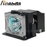 Rembam VT60LP 高品質交換用プロジェクターランプ ハウジング付き NEC VT46 VT460 VT460K VT465 VT475 VT560 VT660 VT660K用