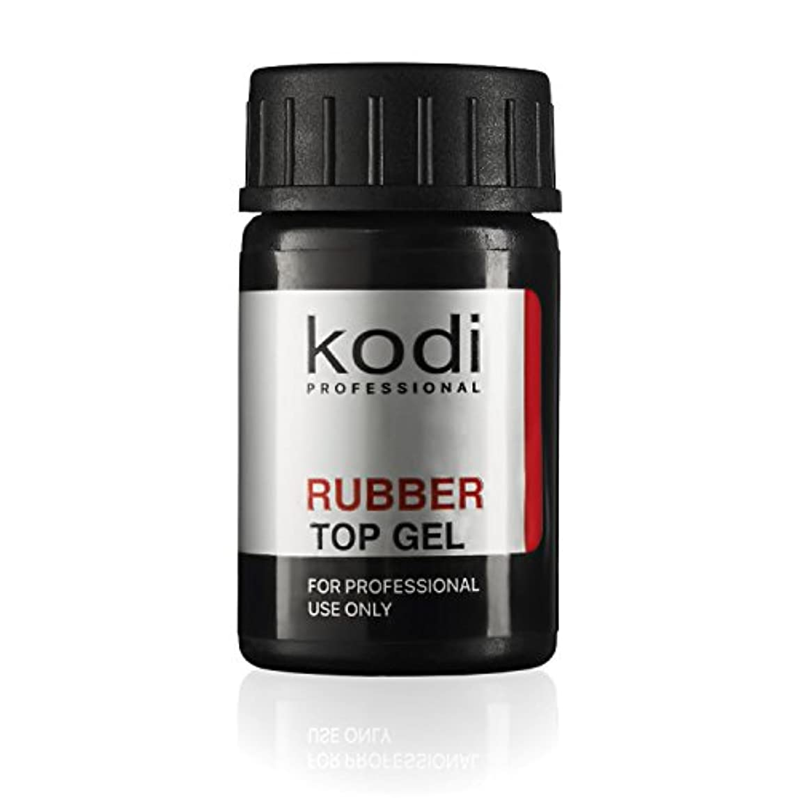 クロニクル規模治療Professional Rubber Top Gel By Kodi | Soak Off, Polish Fingernails Coat Gel | For Long Lasting Nails Layer | Easy...