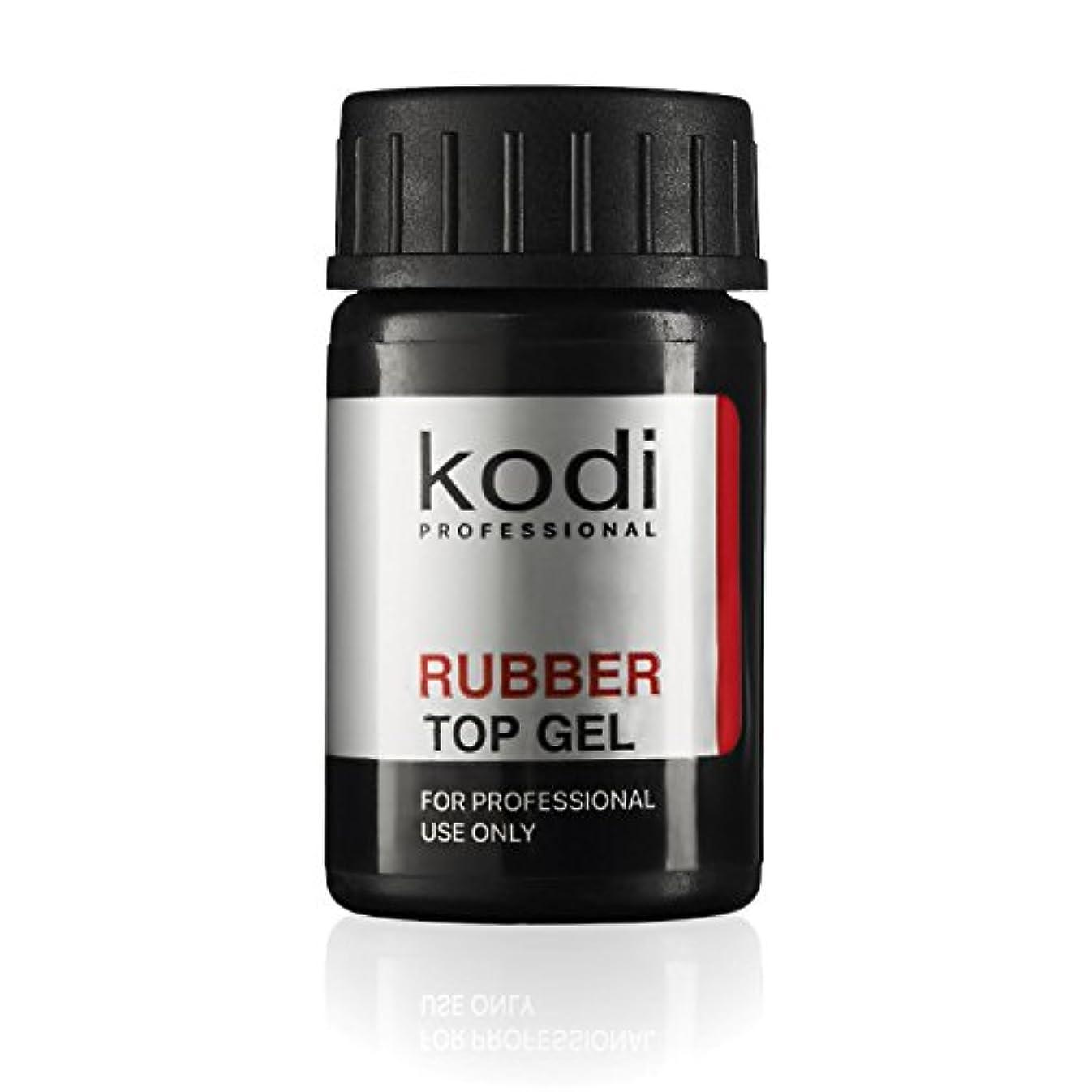 動かすファウルママProfessional Rubber Top Gel By Kodi | Soak Off, Polish Fingernails Coat Gel | For Long Lasting Nails Layer | Easy...
