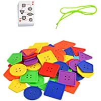 P Prettyia レーシングゲーム ビルディングブロック 幾何学的 子供 早期教育おもちゃ 手工芸玩具