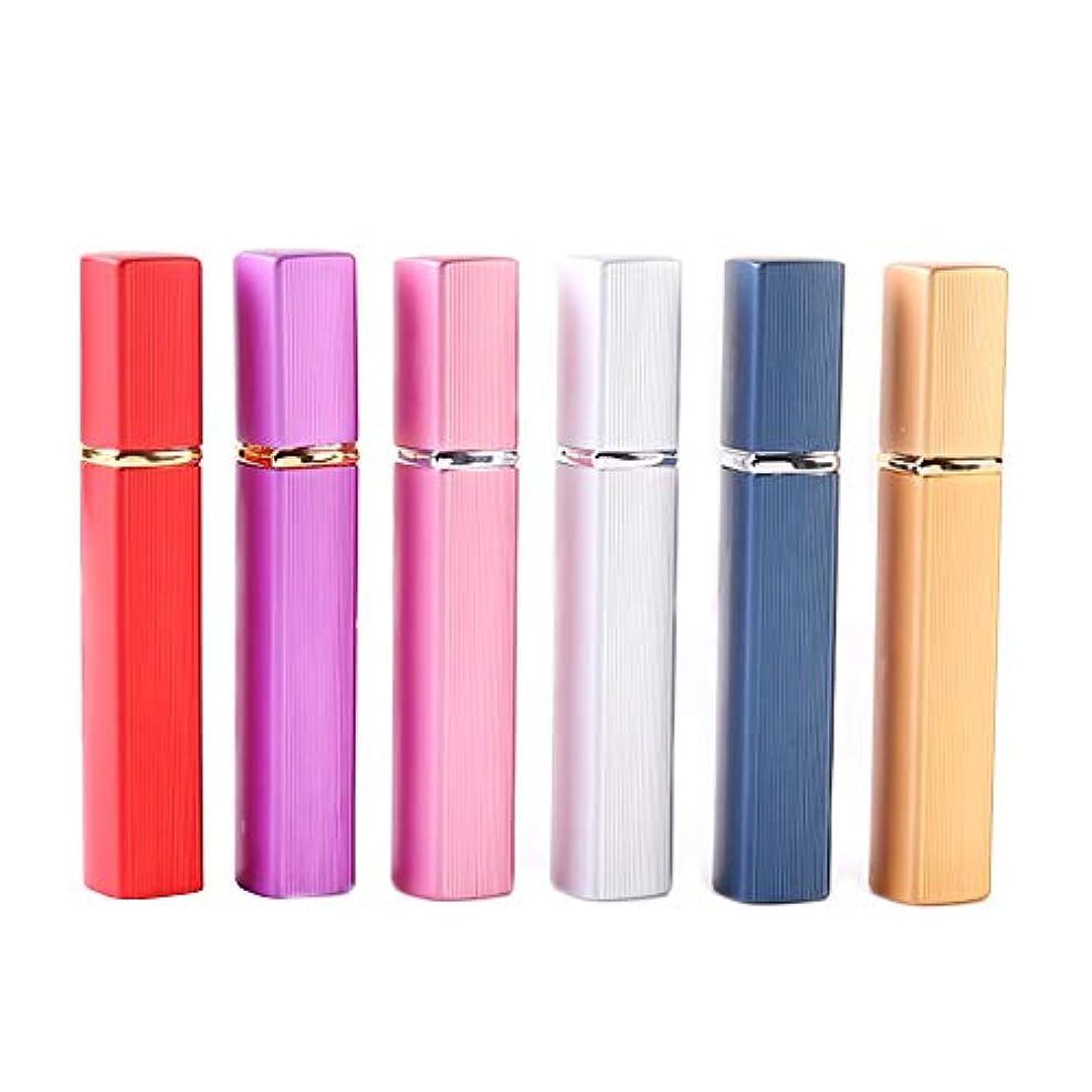 促進する緑関係ないアトマイザー 香水 詰め替え容器 スプレーボトル 小分けボトル トラベルボトル 旅行携帯便利 (12ml-6pcs)