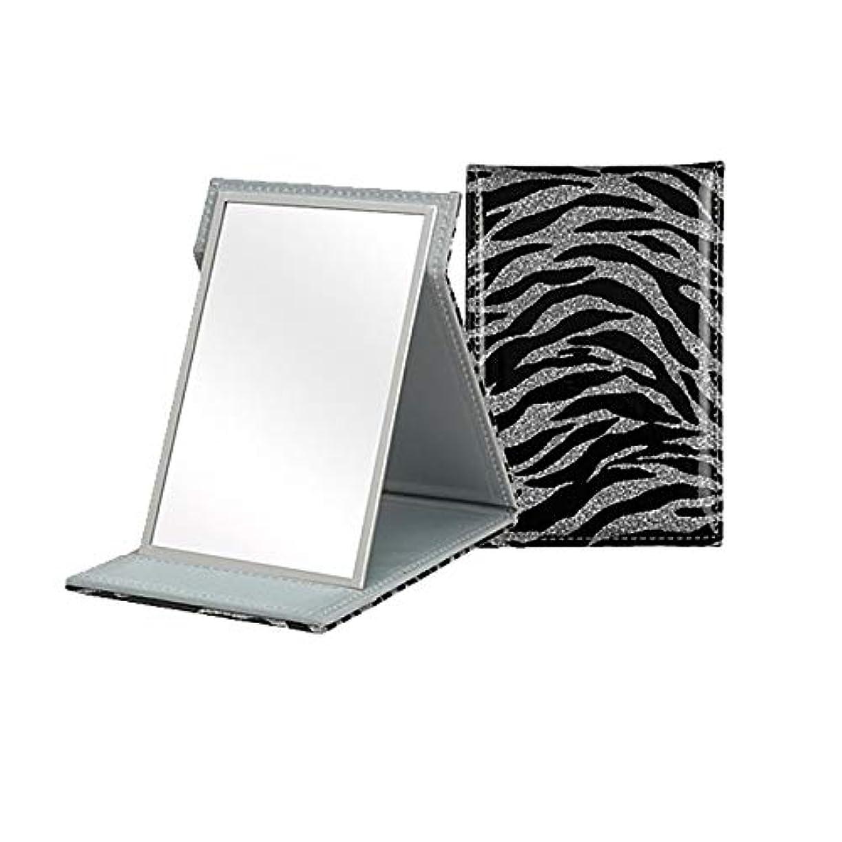 吸うユニークな削減手鏡 ミラー 折りたたみ 鏡 フォールディング カバー IMPACT インパクトS