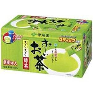 おーいお茶 さらさら抹茶入り緑茶スティック 100本 6箱