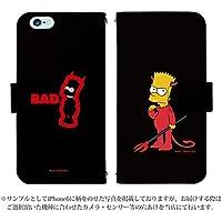 iPhone8 Plus 手帳型 ケース [デザイン:design.3] ザ・シンプソンズ BART ART The Simpsons アイフォン スマホ カバー