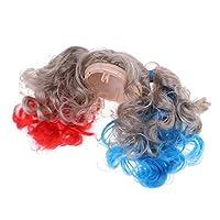Toygogo 人形ウィッグ かつら 頭皮のシェルキット 12インチブライスドール用 女の子人形用 4カラー - #2