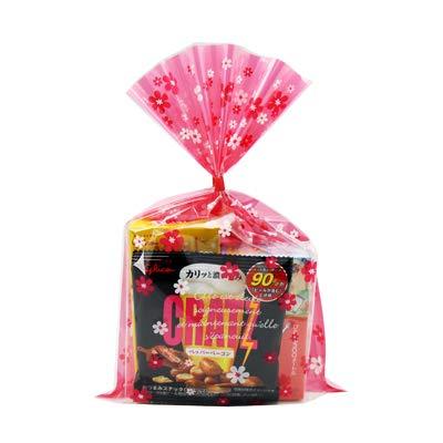花柄袋 290円 グリコのお菓子 詰め合わせ 駄菓子 袋詰め おかしのマーチ