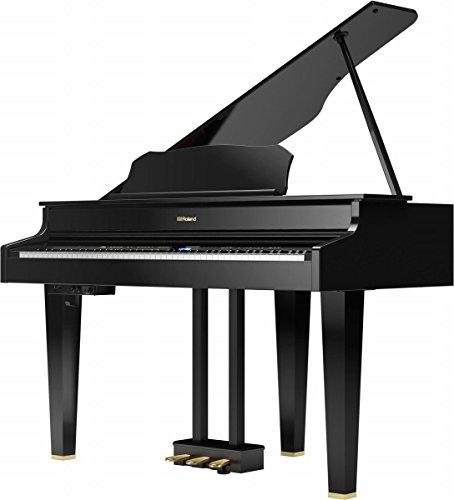 ローランド 電子グランドピアノ(黒塗鏡面塗装仕上げ)Roland Digital Grand GP607-PES