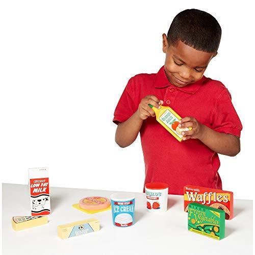 『Melissa und Doug: K?hlschrank Lebensmittel Set (import)』の1枚目の画像