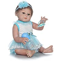 Rebornベビー人形ソフトSiliconeビニール20インチ50 cm Lovely Lifelikeキュート赤ちゃん男の子女の子おもちゃピンクベビー人形Cute Girl