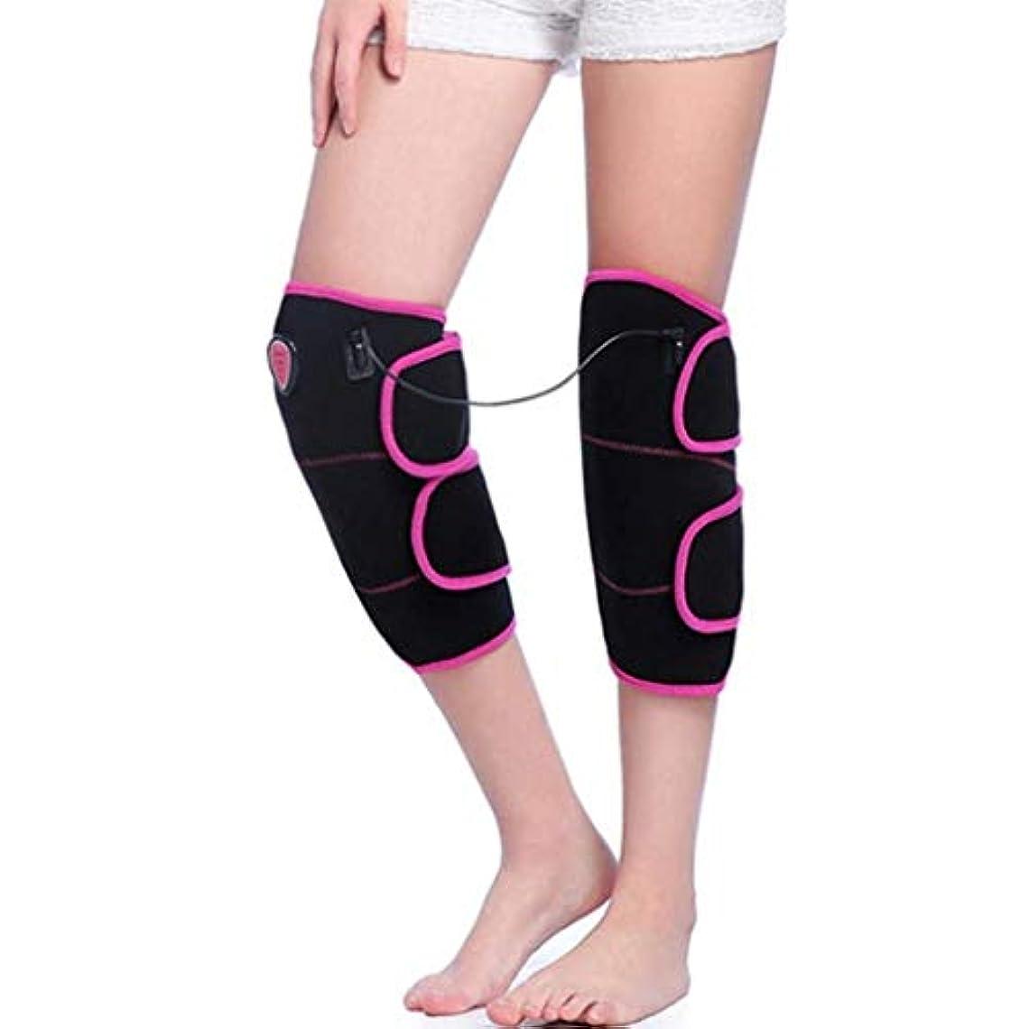 素晴らしいスリップシューズお手伝いさんフットマッサージャー、加熱式膝プロテクター、温熱oxi、膝捻Andおよび関節筋弛緩に適し、血液循環を促進/保温