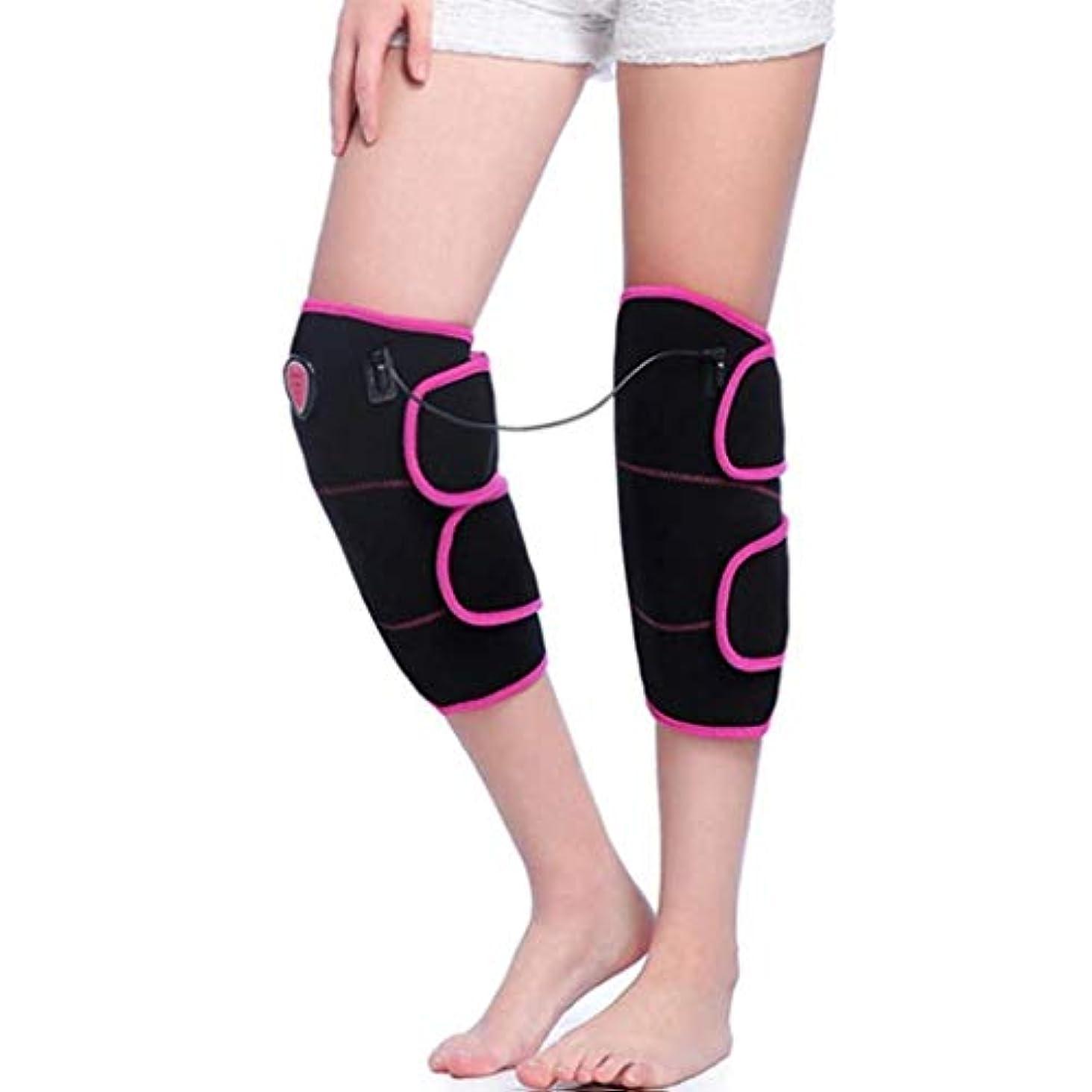 たっぷり独立してテントフットマッサージャー、加熱式膝プロテクター、温熱oxi、膝捻Andおよび関節筋弛緩に適し、血液循環を促進/保温