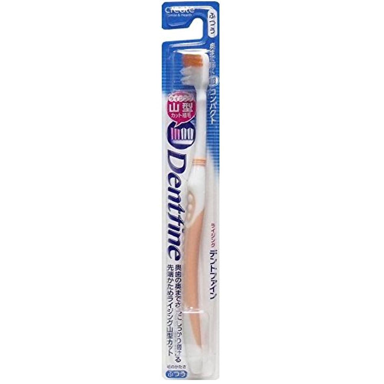香ばしいリラックスした地平線デントファイン ピュアスタイル 山切りカット 歯ブラシ ふつう 1本:オレンジ