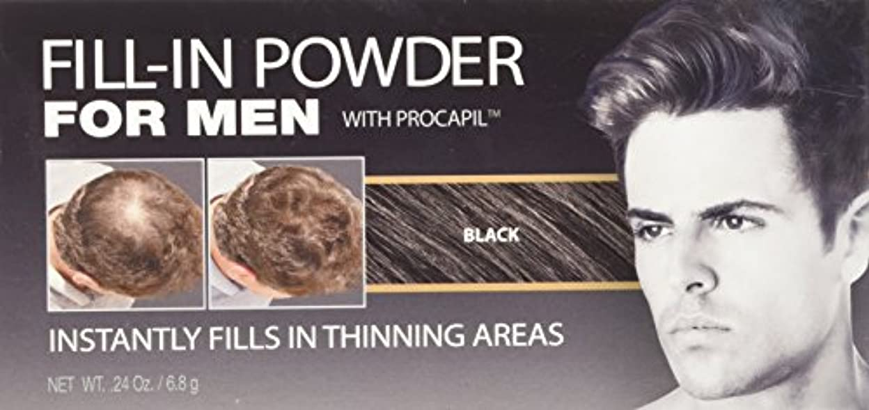 特殊近似話すCover Your Gray Fill-In Powder for Men Black (並行輸入品)