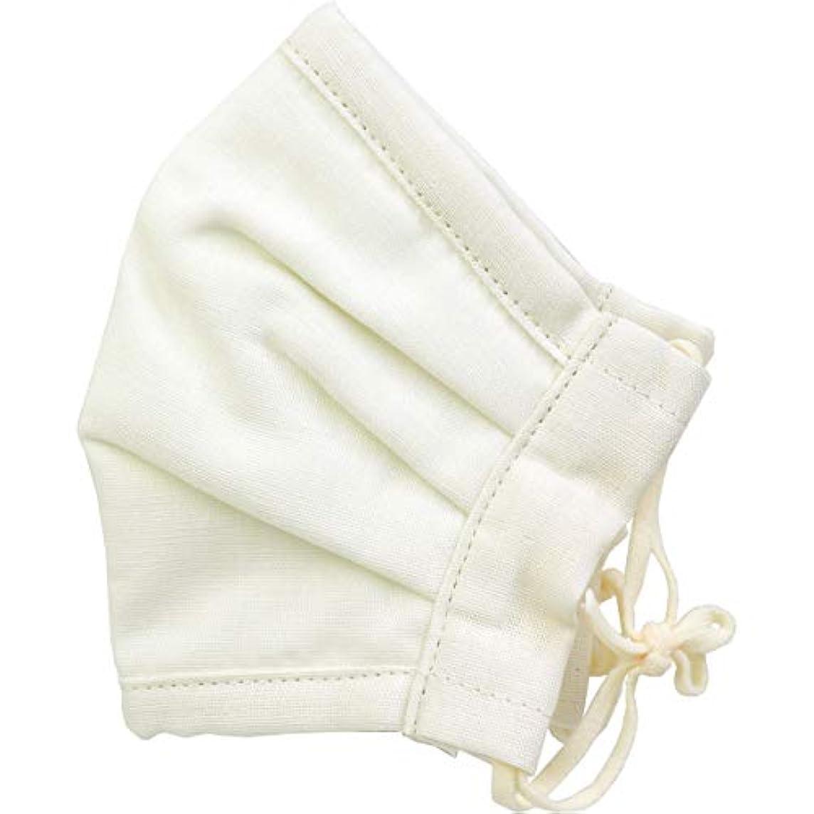 測定可能エコー聖書さらふわマスクダイヤドビー 敏感肌用 アイボリー ふつうサイズ 1枚入(単品)