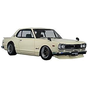イグニッションモデル 1/12 ニッサン スカイライン 2000 GT-R (KPGC10) ホワイト (メーカー初回受注限定生産) 完成品