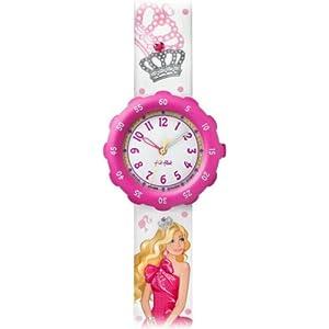 [フリックフラック]FLIK FLAK 腕時計 キッズ腕時計 Tresure & License(トレジャー&ライセンス) Barbie(バービー) ZFLS015 ガールズ 【正規輸入品】