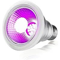 植物育成 LED ライト室内用 プラントライト 水耕栽培 室内栽培 植物成長ライト 防水 LED電球 E26口金 7W