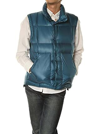 Nylon Down Vest 7565-640-0002: Royal