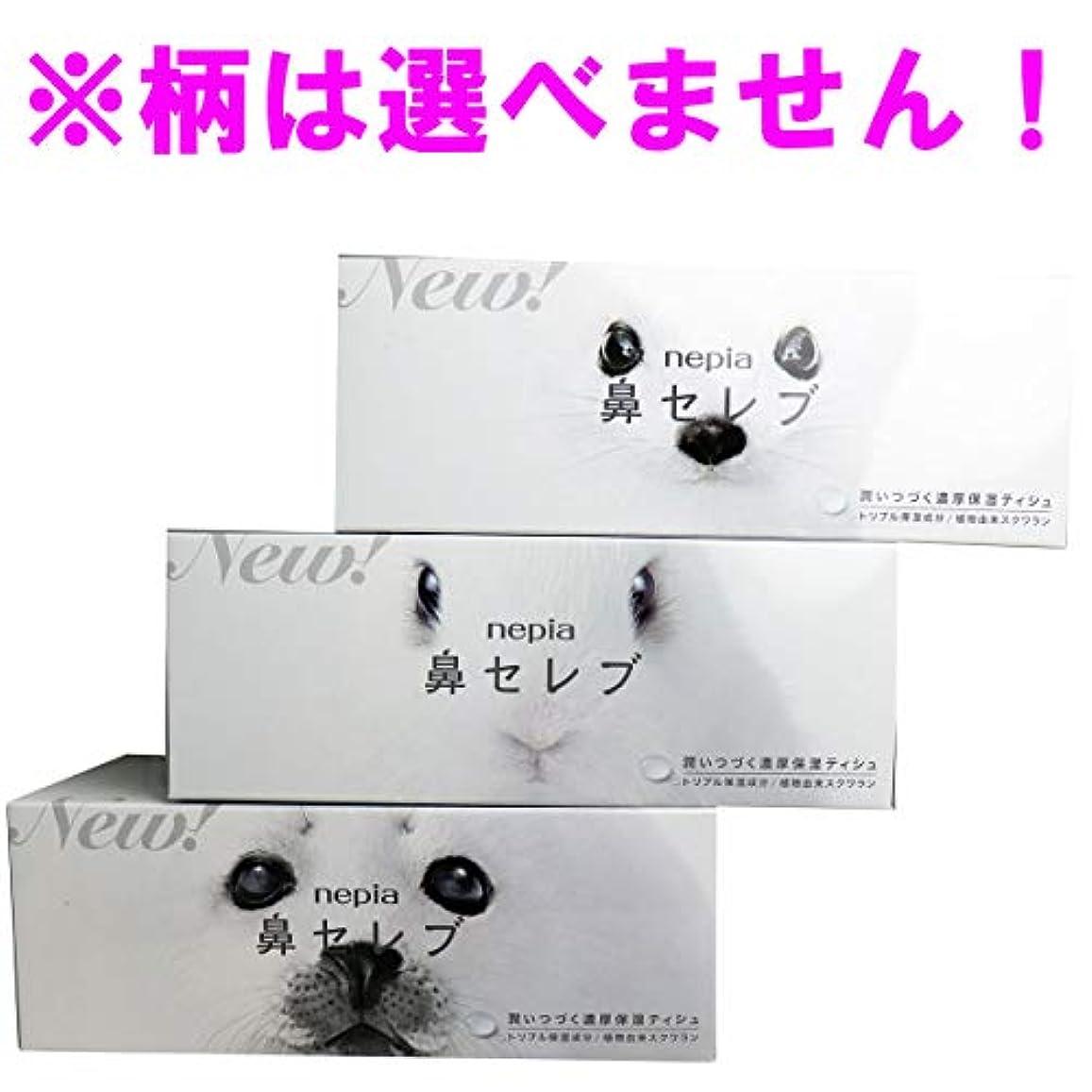 服を着るウガンダ慰めネピア 鼻セレブティシュ ボックス 400枚(200組)×5個セット(管理番号 4901121636085)