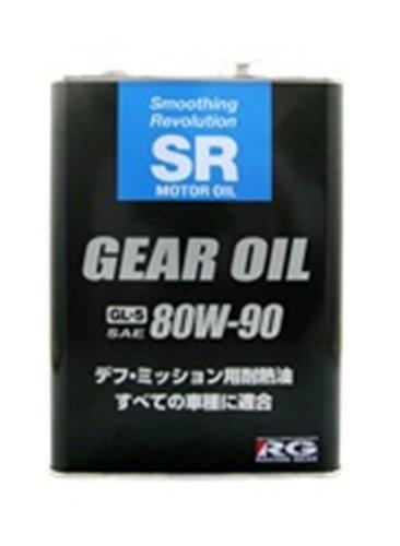 レーシング ギア ( RACING GEAR ) ギアオイル 【SR】 (80W90 GL5) 鉱物油 4L SR80904 [HTRC3]