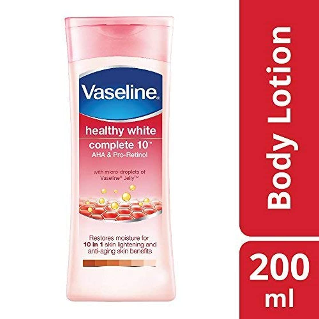 粒子ライム倒錯Vaseline Healthy White Complete 10 AHA and Pro Retinol, 200ml