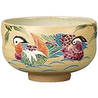 マルサン宮本 九谷焼 抹茶碗 おしどり AP4-0567
