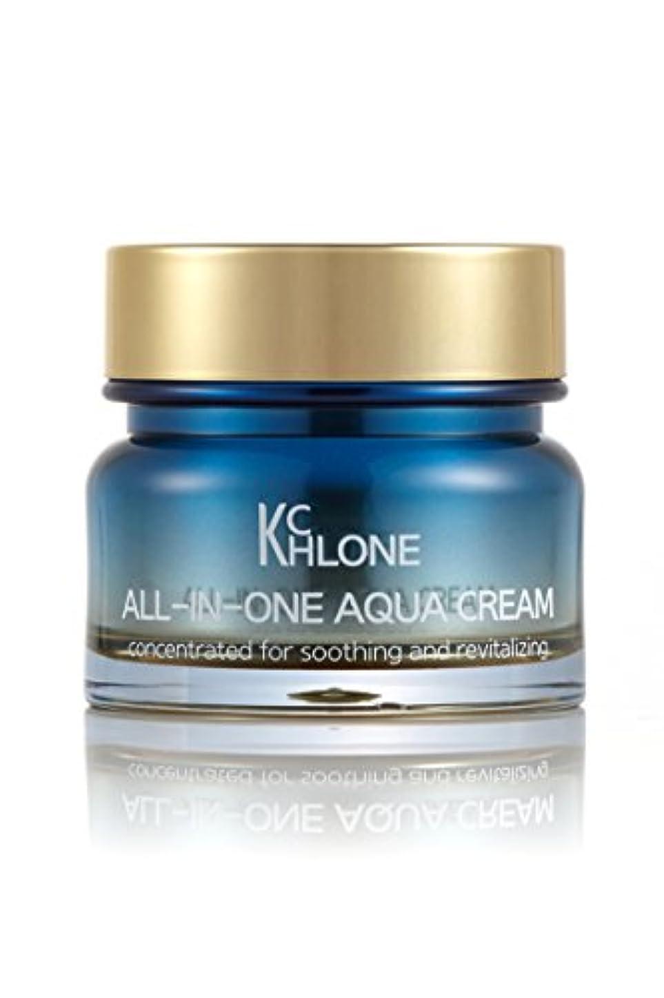 バッチうめき声とティーム[クロネ] KCHLONE オールインワンアクアクリーム50ml (All-in-One Aqua Cream 50ml)
