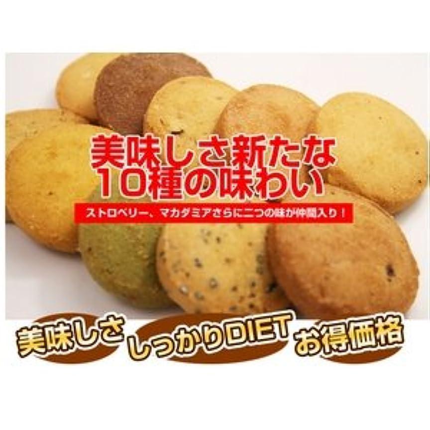 ほのめかすまっすぐポルティコ10種の豆乳おからクッキー 1kg(500g×2)