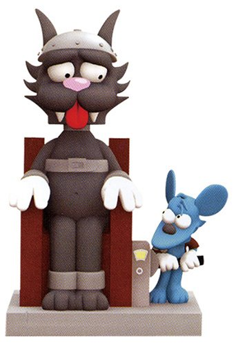 Wacky Wobbler - The Simpsons / 12 Inch Bobble Bank With Sound: Itchy & Scratchy
