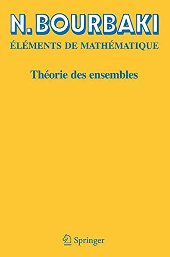 Theorie des Ensembles (Elements de Mathematique)