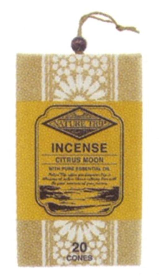 調和床を掃除する熱心ネイチャートリップコーンインセンス シトラスムーン