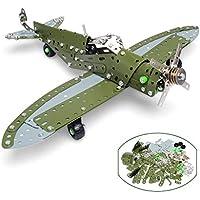 Fantasy Concept Toys ねじ 戦闘機 分解組み立て式 立体パズル 子供向け 玩具 男の子 プレゼント 258ピース