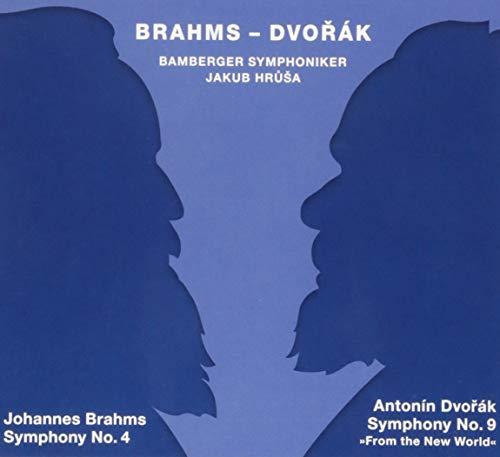 TUDOR1744 ブラームス:交響曲第4番/ドヴォルザーク:交響曲第9番「新世界より」 ヤクブ・フルシャ(指揮) バンベルク交響楽団(SACDハイブリッド2枚組)