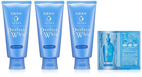 【Amazon.co.jp 限定】専科 パーフェクトホイップ 洗顔料 120g×3個 おまけ付きセット【まとめ買い】