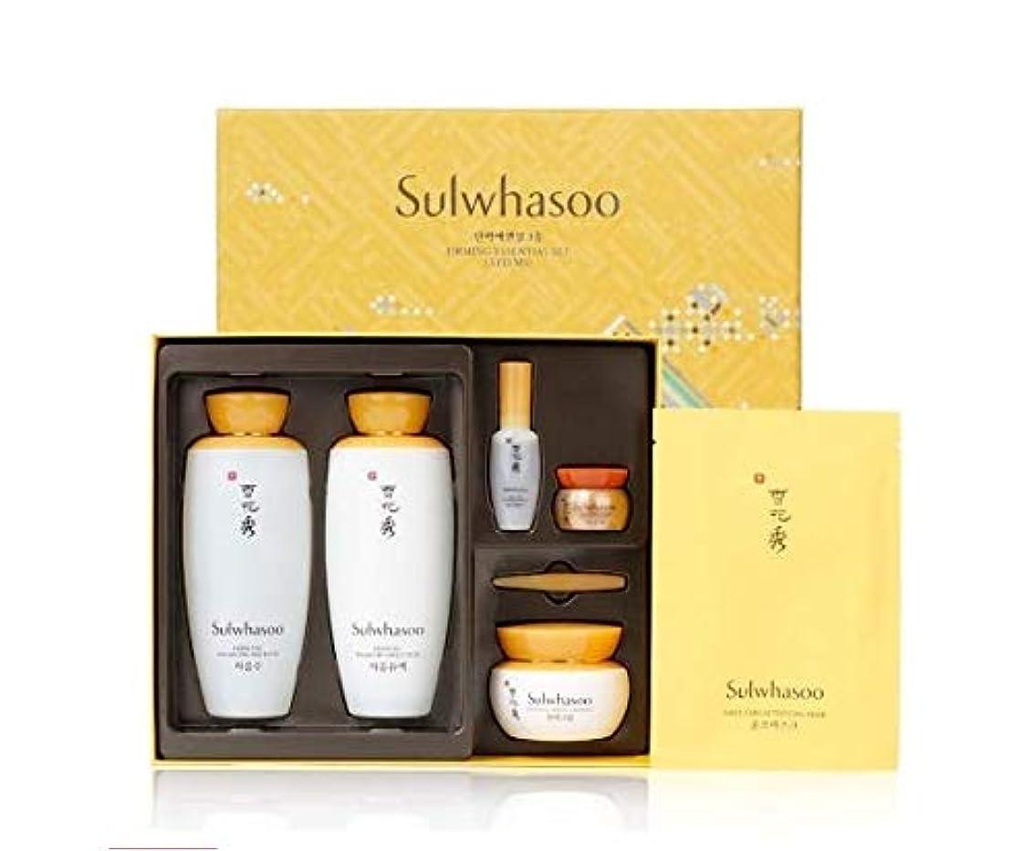 心理的豊富な寮[(雪花秀) Sulwhasoo]基礎化粧品 [ Foundation cosmetics Essential water and emulsion 125ml + Essential Firming Cream EX...