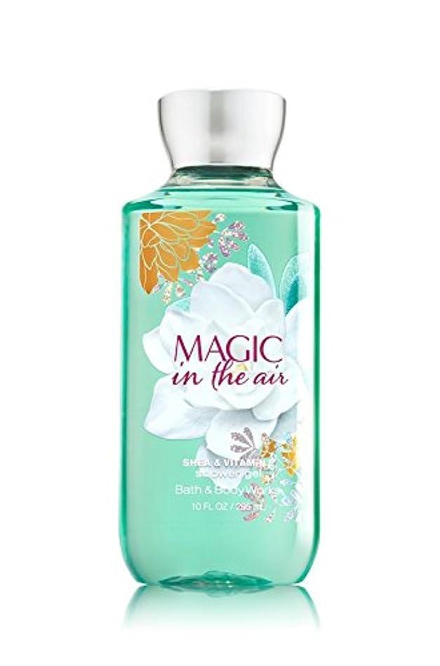 ハンカチ嵐が丘ぬれた【Bath&Body Works/バス&ボディワークス】 シャワージェル マジックインザエアー Shower Gel Magic in the Air 10 fl oz / 295 mL [並行輸入品]