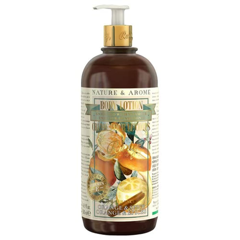 関与するインスタント魅了するRUDY Nature&Arome Apothecary ネイチャーアロマ アポセカリー Body Lotion ボディローション Orange & Spice オレンジ&スパイス