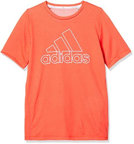 アディダス ジュニアスポーツウェア Tシャツ B TRN CLIMACHILL Tシャツ FTK07 DV1403 ボーイズ トゥルーオレンジS19