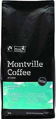 MONTVILLE COFFEE Woodford Blend Espresso Ground Coffee 1 Kg