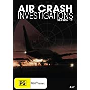 Air Crash Investigations: Season 12 DVD (Region 0, Pal) (Aka Mayday)