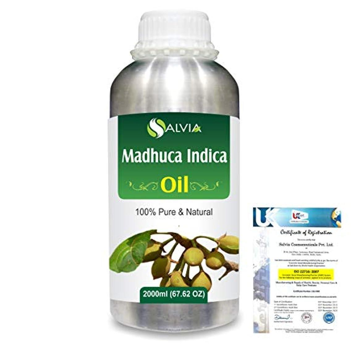 Madhuca Indica (Mahua) 100% Natural Pure Essential Oil 2000ml/67 fl.oz.