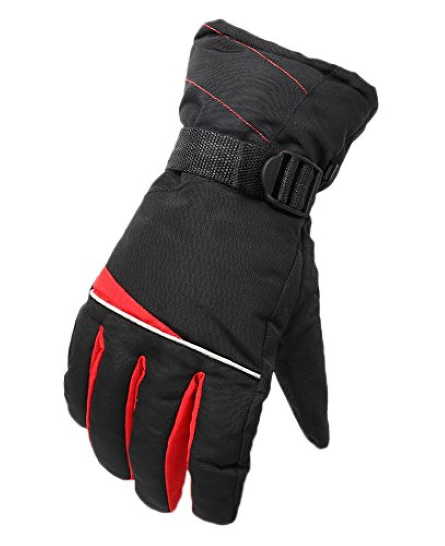 メンズアウトドアスキーグローブ冬冬オートバイバイクスノーボードグローブ、#14